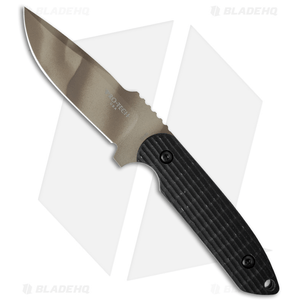 "Pro-Tech Rockeye Fixed Blade Knife Black G-10 (4"" Sand Camo) LG305"
