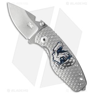 "DPx Custom Shop HEAT/F Frame Lock Custom Knife 3D Ti (2.50"" Stonewash)"