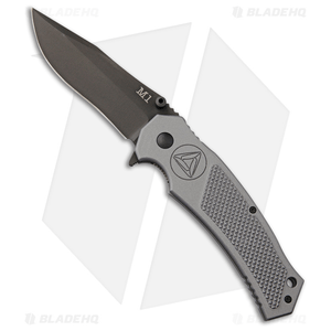 """Combative Edge M1-Assist Tux Spring Assisted Knife Gray (3.875"""" Black)"""