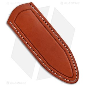 Delta Sheath Delta Shield Fixed Blade Sheath - Chestnut
