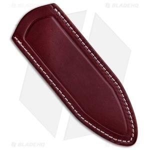 Delta Sheath Delta Shield Fixed Blade Sheath - Burgundy