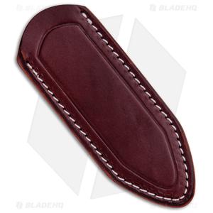 Delta Sheath Delta Shield Mini Fixed Blade Sheath - Burgundy
