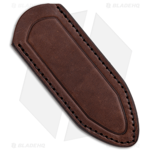 Delta Sheath Delta Shield Mini Fixed Blade Sheath  - Dark Brown