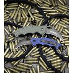 Fox-Knives-Karambit-Folder-Knife-OD-Green-G-10--3.1--Black--479OD