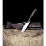 Spyderco-Zoomer-Fixed-Blade-Knife-Black-G-10--5.2--Satin--FB42GP-