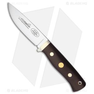 "Fallkniven Knives F1 Pilot Fixed Blade Knife Red Micarta (3.75"" Satin)"