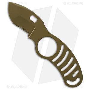 "5.11 Tactical Side Kick Fixed Blade Knife Coyote Tan (2"" Tan Serr) 51023-328"