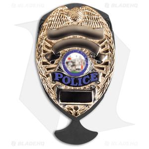 "5.11 Tactical Shield Badge Holder Dagger Fixed Blade Knife (2.75"" Black) 51077"