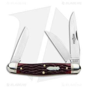 "GEC #82 Northfield UN-X-LD Dixie Stockman Pocket Knife 4.1"" Elderberry 828318"