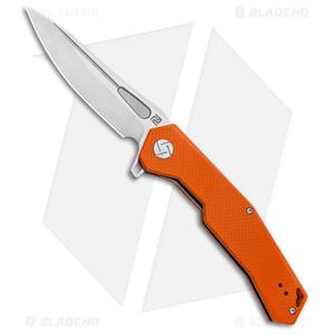 "Artisan Cutlery Zumwalt Liner Lock Knife Orange G-10 (3.8"" Satin)"