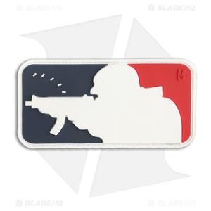 "Maxpedition 3"" x 1.5"" Major League Shooter Morale PVC Patch (Full Color)"