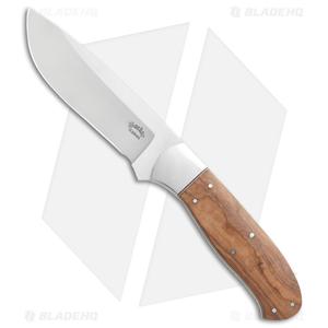 "Boekoe Knives SVR Hunter Fixed Blade Knife Wild Olive Wood (4"" Satin)"