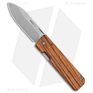 "Boker Plus Panchenko Lancer 42 Frame Lock Knife Zebrawood (2.75"" SW) 01BO466"