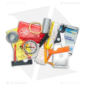 ESEE Pocket Survival Kit, Orange Pouch ESEE-S-KIT-OR