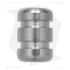 TiSurvival Grooved Zirconium Lanyard Bead - Polished