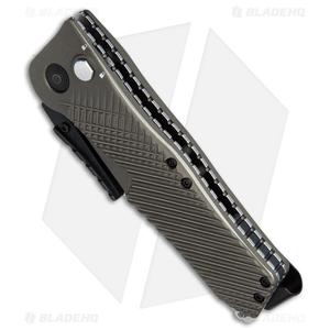 "SOG Quake Spring Assisted Knife FDE Aluminum (3.5"" Two-Tone) IM1001-BX"