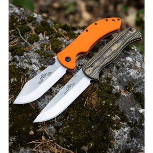 """Emerson Knives Overland Renegade Fixed Blade Knife Richlite (4.3""""Satin)OVE-FX-SF"""
