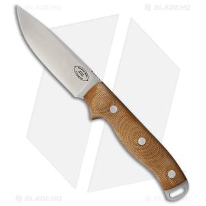 "American Knife Company Shenandoah Fixed Blade Knife Brown Micarta (4.25"" Satin)"