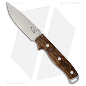"American Knife Company Shenandoah Fixed Blade Knife Bocote Wood (4.25"" Satin)"