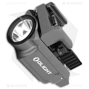 Olight BALDR Mini Gray Tactical LED Flashlight + Weapon Mount (600 Lumens)
