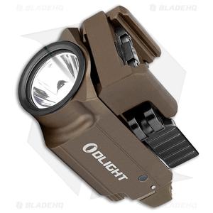 Olight BALDR Mini Tactical LED Flashlight + Weapon Mount Desert Tan (600 Lumens)
