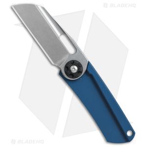 "NCC Knives Pod Friction Folder Knife Blue G-10 (2"" Stonewash)"