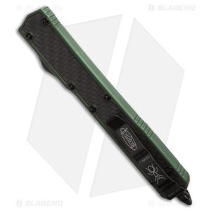 """Microtech Makora II D/A OTF Automatic Knife OD Green (4.45"""" Full Serr) 106-3ODT"""