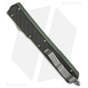 "Microtech Makora II D/A OTF Automatic Knife OD Green (4.45"" Satin) 106-4OD"