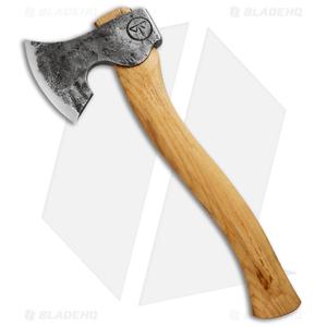 "Hoffman Blacksmithing Woodsmans Finest 13.6"" Craft Carver Axe w/ Hickory Handle"