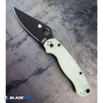 Spyderco-M4-Paramilitary-2-Knife-Natural-G-10--3.4--Black--C81GM4BKP2-Exclusive