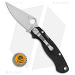 Spyderco-Paramilitary-2-Left-Handed-Knife-G-10--3.4--Satin-S30V--C81GPLE2