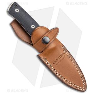 "LionSteel B35 Fixed Blade Knife Santos Wood (3.5"" Satin)"