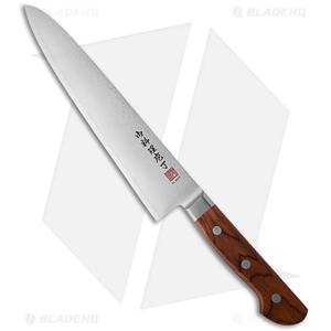 "Al Mar UltraChef 9.5"" Damascus Gyuto Knife w/ Cocobolo Wood Handle AM-UC9"