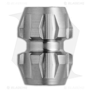 Ti2 Design Rogue Titanium Lanyard Bead - Tumbled