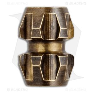 Ti2 Design Rogue Brass Lanyard Bead - Antique Brass