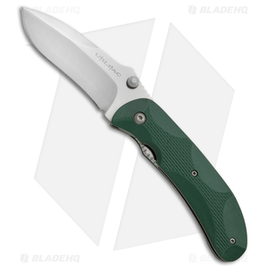 "Ontario Joe Pardue Utilitac Liner Lock Knife Green Zytel (3.1"" Satin) 8786"