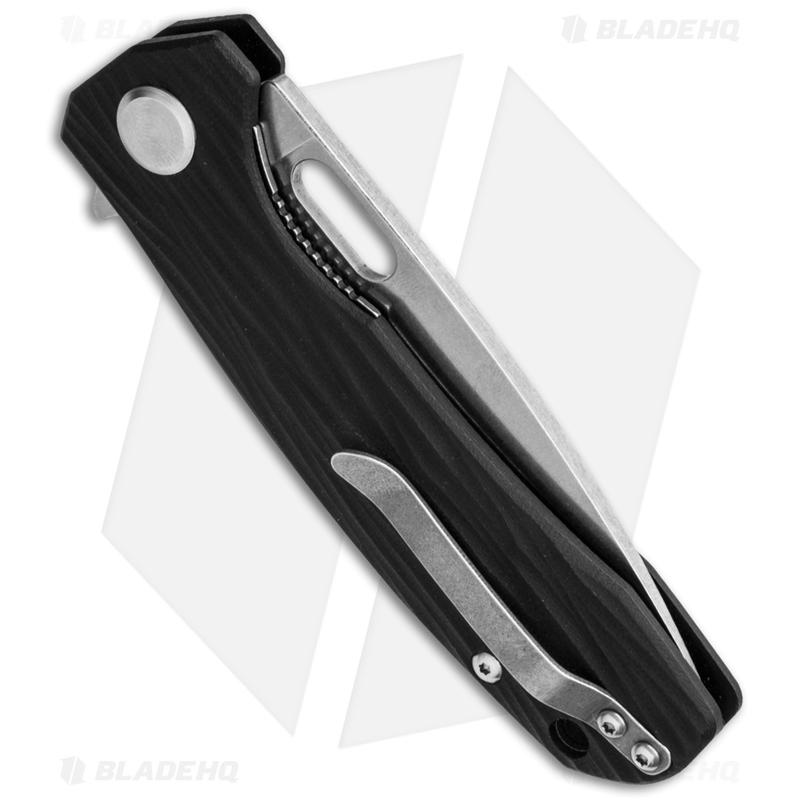 Maxace-Balance-Liner-Lock-Knife-Black-G-10--3.625--Stonewash-VG-10-
