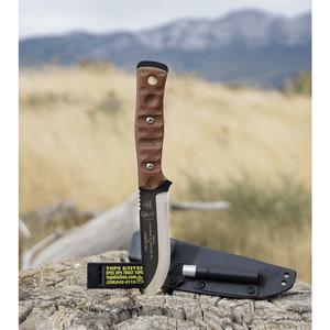 """TOPS Knives BOB Brothers of Bushcraft Knife Rocky Mountain (4.625"""" Black)"""