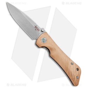 "Southern Grind Spider Monkey Liner Lock Knife Copper (3.25"" Stonewash)"