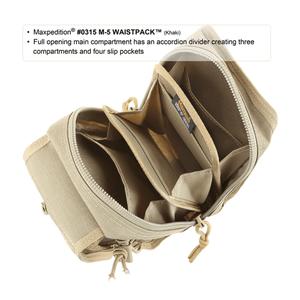 Maxpedition M-5 Waistpack Foliage Green Large Utility Bag 0315F