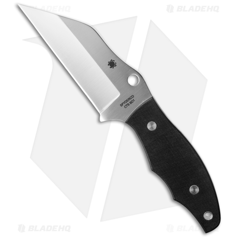 Spyderco-Ronin-2-Fixed-Blade-Knife-G-10--4.1--Satin--FB09GP2