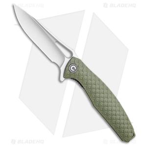 "CIVIVI Wyvern Folding Flipper Knife OD Green FRN (3.5"" Satin) C902A"