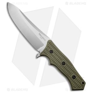 """Pro-Tech Elishewitz Spindrift Prototype Fixed Blade OD Green G-10 (5.5"""" SW)"""