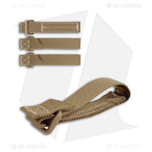 """Maxpedition 3"""" TacTie Attachment Strap System (Pack of 4) Khaki 9903K"""