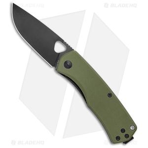 "James Brand The Folsom Liner Lock Knife Green G-10  (2.75"" Black)"