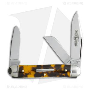 "GEC #66 Northfield UN-X-LD Calf Roper Pocket Knife 3.3"" Tortoise Shell 661317"