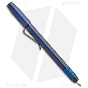 Ti2 Design TechLiner Shorty Titanium Pen w/ Clip - FallOut