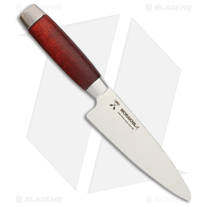 "Morakniv Classic Utility Kitchen Knife Red Wood (5"" Satin) 1891"