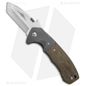 "Emerson Custom Prototype CQC-14 Tanto Knife Micarta/Ti (2.75"" Satin)"