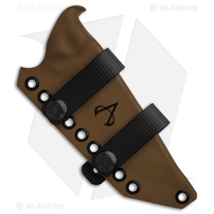 Armatus Carry TOPS Knives BOB Architect Sheath Coyote Brown Kydex